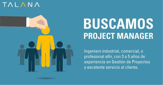 Buscamos Project Manager